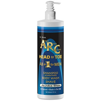 ARC Head To Toe Natural All-In-One Body Wash Shampoo and Shave