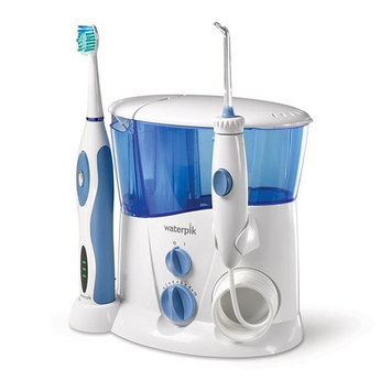 Waterpik Complete Care Water Flosser and Sonic Toothbrush, WP-900 [Complete Care-Older Model]