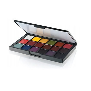 Ben Nye 18 Color Palette, Global Sheer Foundation [Global Sheer Foundation]