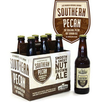 Lazy Magnolia Brewery Southern Pecan Nut Brown Ale Lazy Magnolia Brewing Company 6 pack 12 ounce bottles