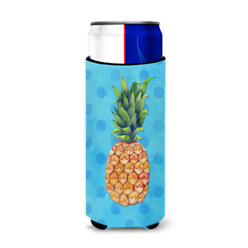 Pineapple Blue Polkadot Michelob Ultra Hugger for slim cans BB8191MUK