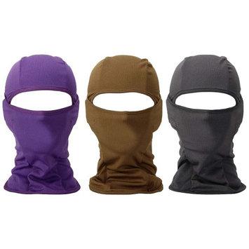 Bundle Monster 3pc Lightweight Wind UV Protecting Face Mask Balaclava - Set 5
