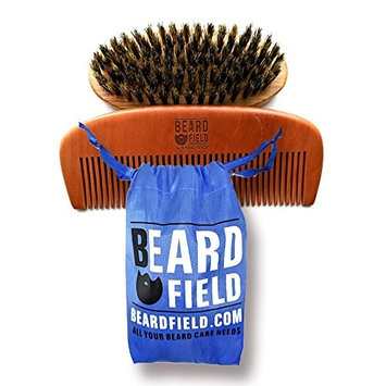 Best Beard Brush and Beard Comb kit NEW! ✮100% Bristle and Handmade ✮ Ideal gift for the Bearded Man ✮