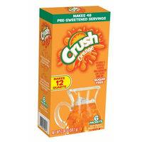 Jel Sert Crush Pitcher Packs! Drink Mix, Orange, 2.08 Oz, 6 Count Box, Pack of 8