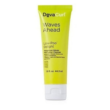DevaCurl Travel Size Low-Poo Delight Weightless Waves Mild Lather Cleanser 1.5 Fl oz / 44.3 ml