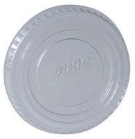 DIXIE PL2C Disposable Souffle Cup Lid, Clear, PK2400