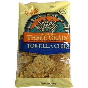 Plockys Tortilla Chips - Three Grain 7 oz (Pack of 12)