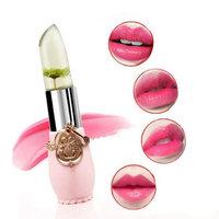 Paymenow Flower Magic Color Discoloration Jelly Lip Stick Professional Make-up Waterproof Long Lasting Moisturize Lipstick Lip Gloss