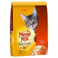 Meow Mix Tender Centers Salmon & White Meat Chicken Flavors Dry Cat Food - 13.5lbs