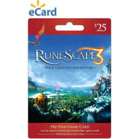 Incomm Jagex RuneScape - $25 card (Email Delivery)