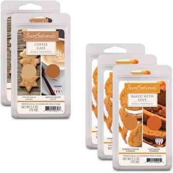 Rimports Usa Llc ScentSationals 5pk Wax Duos, Sweet Fall Comforts