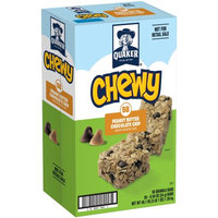 Pepsi Quaker Chewy Peanut Butter Chocolate Chip, 58 Count