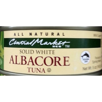 Central Market HEB Solid White Albacore Tuna, 5 Oz (Pack of 6)