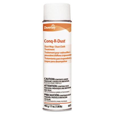 Conq-r-Dust Dust Mop/Dust Cloth Treatment, Amine Scent, 17oz Aerosol, 12/Carton, Sold as 1 Carton, 12 Each per Carton