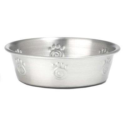 PetRageous Designs Cayman Classic 1-Cup Stainless Steel Pet Bowl