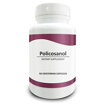 Pure Science Policosanol 20mg - Support Cardiovascular Health and Lower Cholesterol Level -100 Vegetarian Capsules