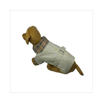 Pet Life Llc PETLF FSH CLLR COAT PNK/PLD MD