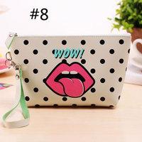 Women Handbag Case Printing Clutch Bag Coin Phone Purse Pouch Wallet Cute ECLNK