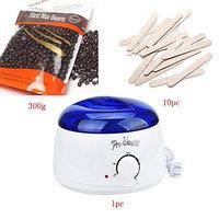 Hair Removal Bean Wiping Sticks Hot Wax Warmer Heater Pot Depilatory Set (C)