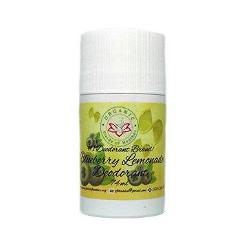 Organic Fields of Heather Sweet Blueberry Lemonade Organic & Natural Deodorant, 2.5 fl. Oz.