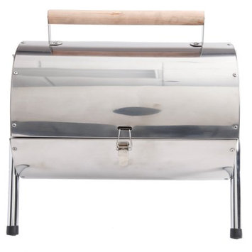 Gibson Wilkerson Double Barrel BBQ Grill