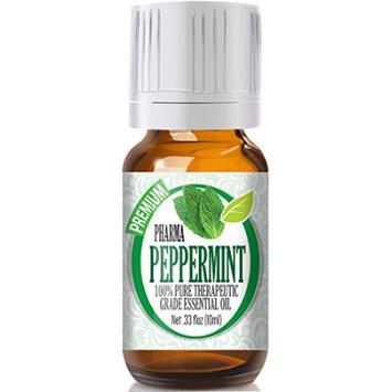 Healing Solutions Peppermint (PREMIUM Pharmaceutical Grade) - 100% Pure, Best Grade Essential Oil - 10ml