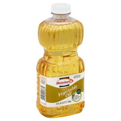 Manischewitz Vegetable Oil, Pure, 24 Oz