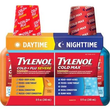 Johnson & Johnson Tylenol Cold + Flu Severe Max 8oz 2Pack