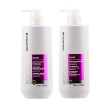 Goldwell Dualsenses Color Brilliance Shampoo & Conditioner Duo FadeStop Vibrant Protection - 33.8oz