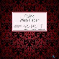Flying Wish Paper Red Velvet, Large