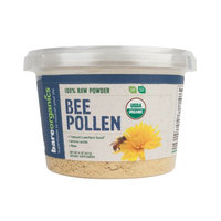 BareOrganics BEE POLLEN POWDER (Raw) (8oz)
