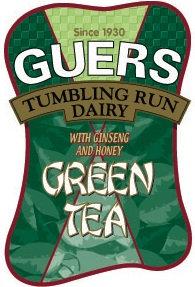 Guers Dairy Green Tea Half Gallon