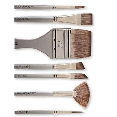 Dynasty Faux Squirrel Paint Brushes 4 round