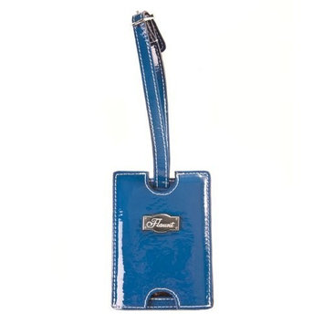 Flaunt Solid Blue Luggage Tag * Handbag New Fashion 92112(FF)