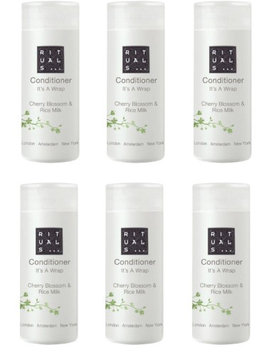 Rituals Its a Wrap Cherry Blossom & Rice Milk Conditioner. Lot of 6 Total 5.1oz (Pack of 6)