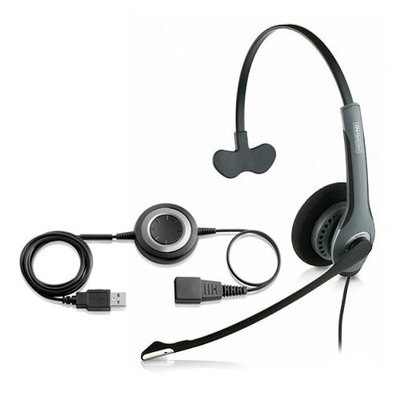GN Netcom GN-2020 Mono Noise Cancelling SIP Headset with Link 280 GN