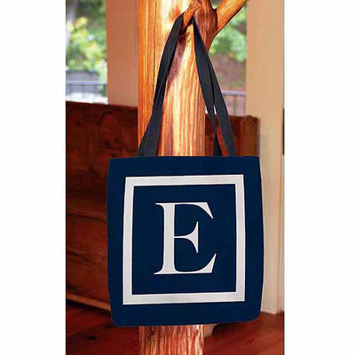 Thumbprintz - Classic Block Monogram Tote Bag