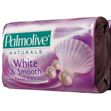 Palmolive Naturals White & Smooth with Pearl Powder & Milk Protein Bar Soap, 80 G / 2.8 Oz Bars, 3 in a Pack (Pack of 4) 12 Bars Total