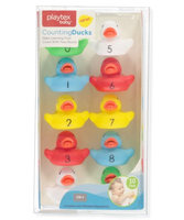 Playtex 10-Piece Counting Toys - red/multi, one size