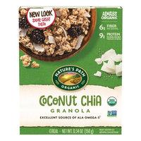 Nature's Path Organic Granola, Coconut Chia, 12.34 Oz (Pack of 2)