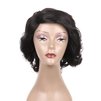 Short Xtrend Hair Brazilian Human Loose Curly Wave Hair Virgin Hair Wigs for White Black Woman 8