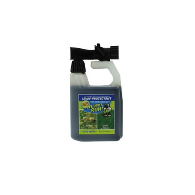 See Spot Run Lawn Protectant - Cures and Prevents Dog Urine Spots. Safe, Effective, Natural Lawn Care Product and Excellent Grass Saver for Pets to Aid your Lawn Fertilizer (32oz. hose end concentrate)