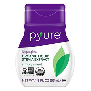 Pyure Organic Stevia Liquid Drops, Special 5 Pack Pcl( 1.8 Ounce Each )