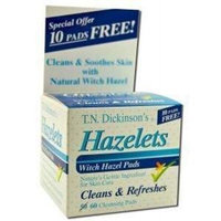 Dickinson Brands Hazelet Witch Hazel Pad by Dickinson's