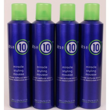 It's a 10 - Miracle Styling Mousse 9oz Lot Of 4