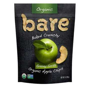 Bare Organic Baked Crunchy Apple Chips Gluten Free Great Granny -- 3 oz