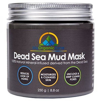 My-Organic-Zone Dead-Sea-Mud-Mask for Acne-Treatment, Face-Mask Anti-Aging and Anti-Wrinkle (250g/8.8oz)