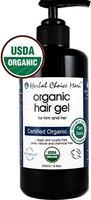 Herbal Choice Mari Organic Hair GEL 200ml/ 6.8oz Glass Bottle