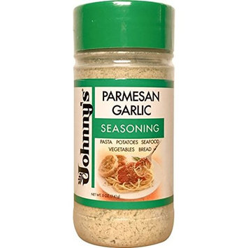 Johnny's Parmesan Garlic Spread and Seasoning 5oz (Pack of 2)