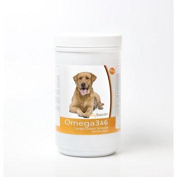 Healthy Breeds 840235143376 Labrador Retriever Omega 3 & 6 Skin & Coat Soft Chews - 120 Count